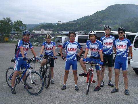 かずら橋・黒沢湿原サイクリング