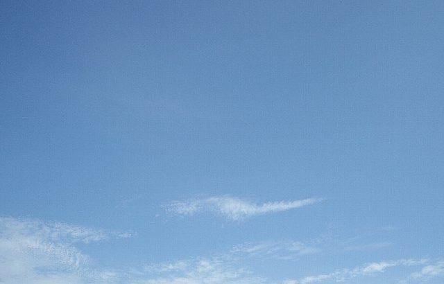 青空が恋しくて・・・ローラー回しました。