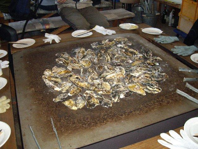 牡蠣食べ放題ツーリング