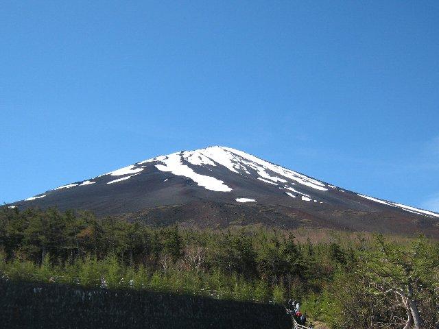 今年も富士山は快晴でした!