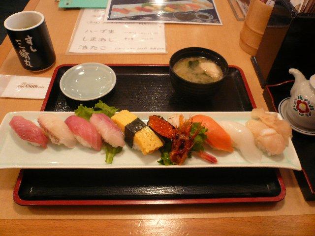 雑記~ダイナモと寿司~